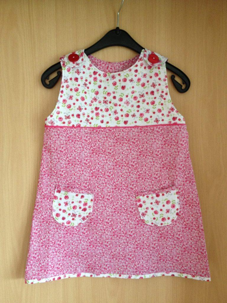 A-Linien Kleid in pink