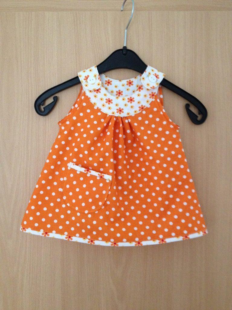 Babyhängerchen in orange