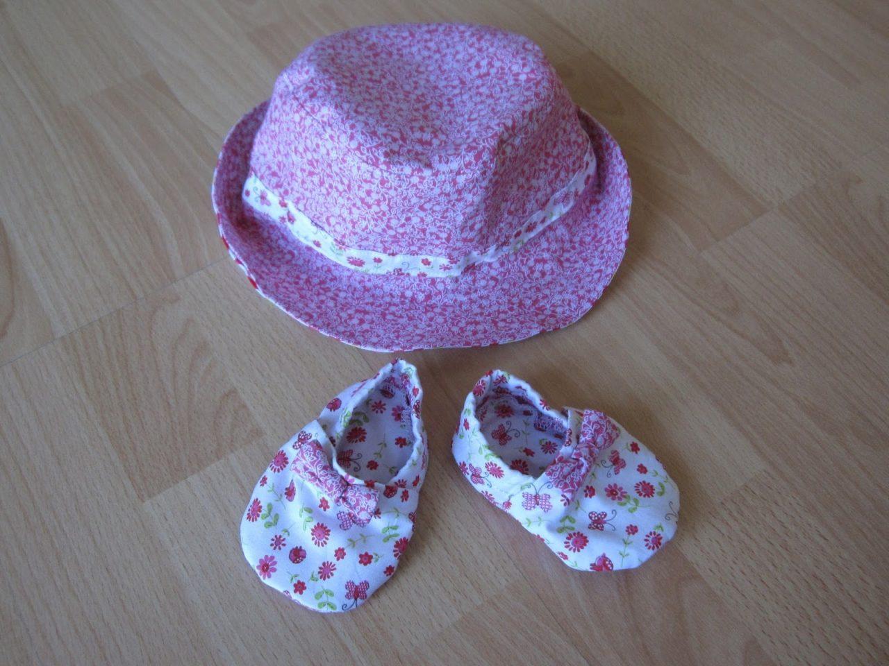 Nachtrag: passender Sommerhut und Schuhe