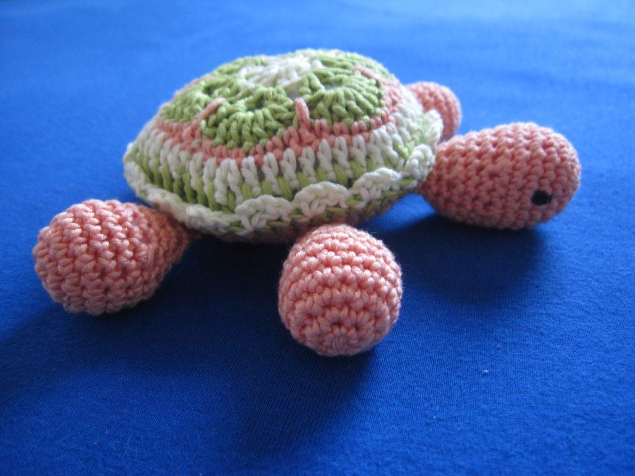 "Baby Schildkröte ""African Flower"""