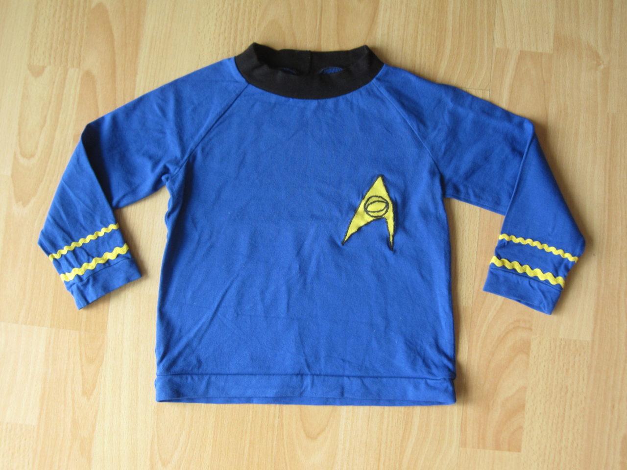 Kinder Spock Kostüm für Fasching