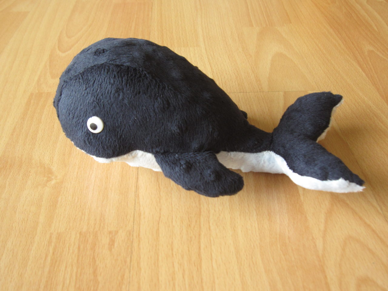 Walfisch aus Minkystoff