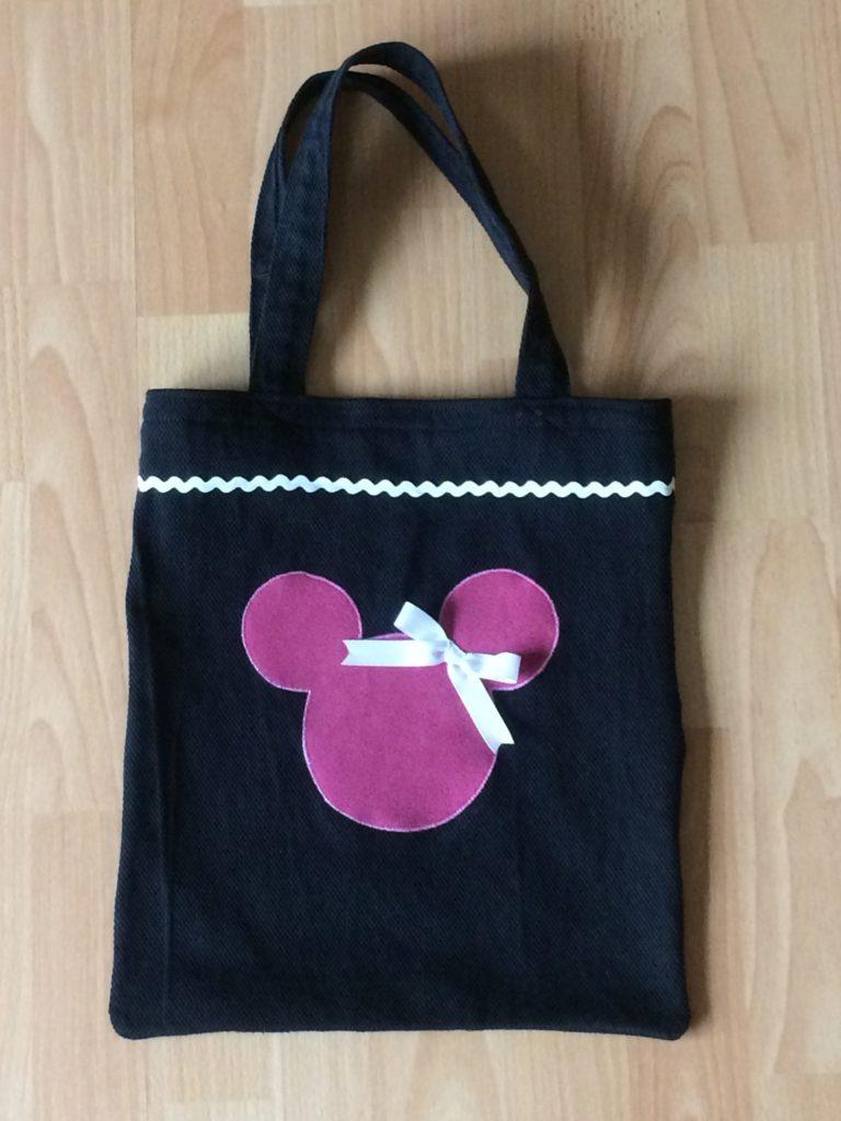 Minnie Maus Tasche selbst nähen